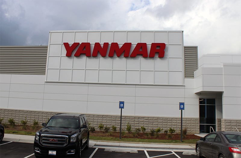 Uni-Structures; Yanmar Sign